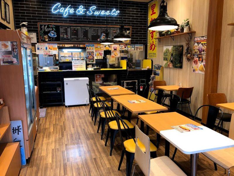 お芋カフェ店内の写真