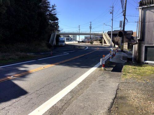 けやきの杜南側の歩道橋の写真