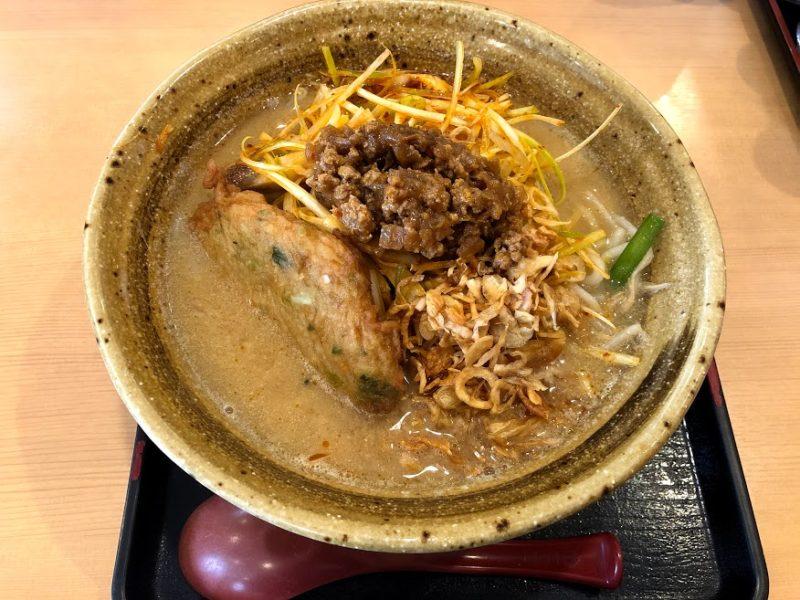 九州麦味噌肉ネギらーめんの写真
