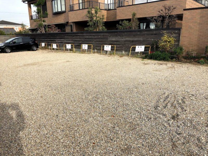 魚松駐車場の写真